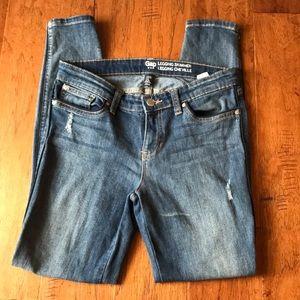 Gap skinny jeans size 0